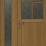 Vhodna lesena vrata po meri